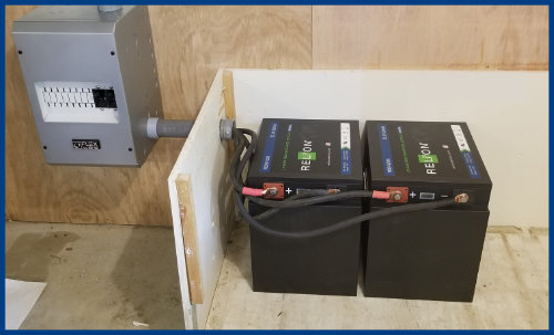 RELiON Battery Bank Wired in Parallel