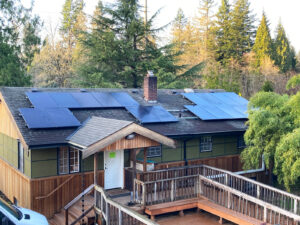 Rooftop grid tie solar