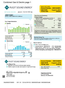 Electric Bill Example