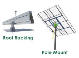 Solar Panel Racking Options